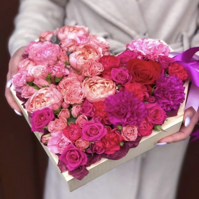 Цветочное сердце 2
