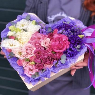 Цветочное сердце 5